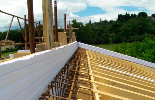 Isolamento termico falde di copertura